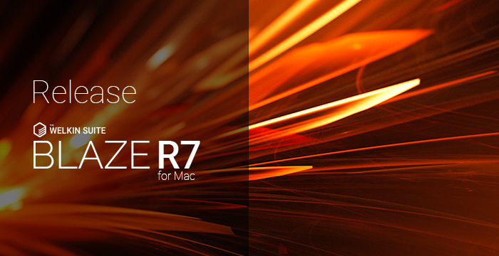The Welkin Suite Blaze R7 - improves performance, stability for better development experience!
