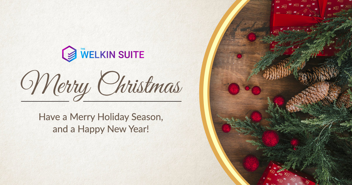 Merry Christmas and Happy New Year'18 from The Welkin Suite
